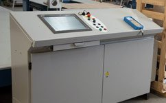 oscillating blade cnc contour cutter console cabinet